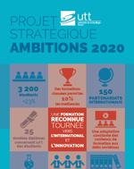 Plan stratégique UTT 2030 dépliant synthèse et poster